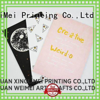 full color custom brochure printing travel notes for school