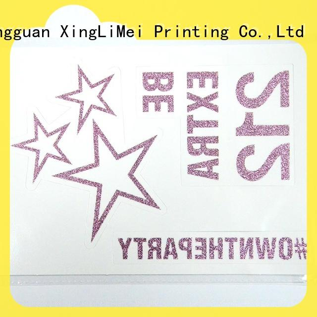 XingLiMei flash printing temporary tattoos online for hands