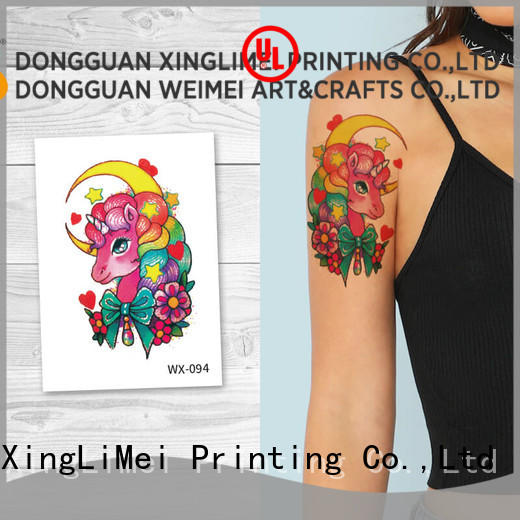 XingLiMei legs sexy temporary tattoos factory price for beauty