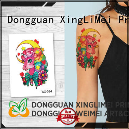 XingLiMei personalized non-toxic temporary tattoos prices for wedding