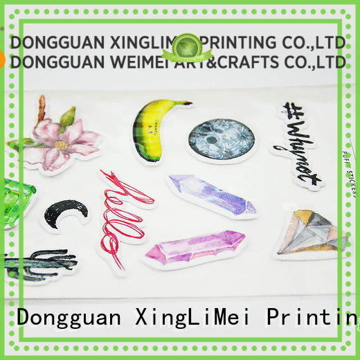 XingLiMei personal stickers printing creator for wall