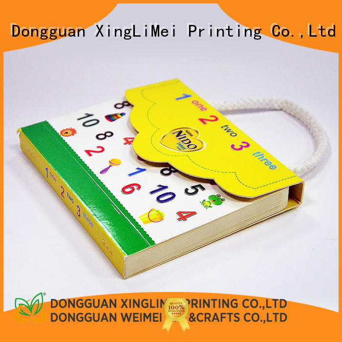 XingLiMei full color books printing for travel for meeting