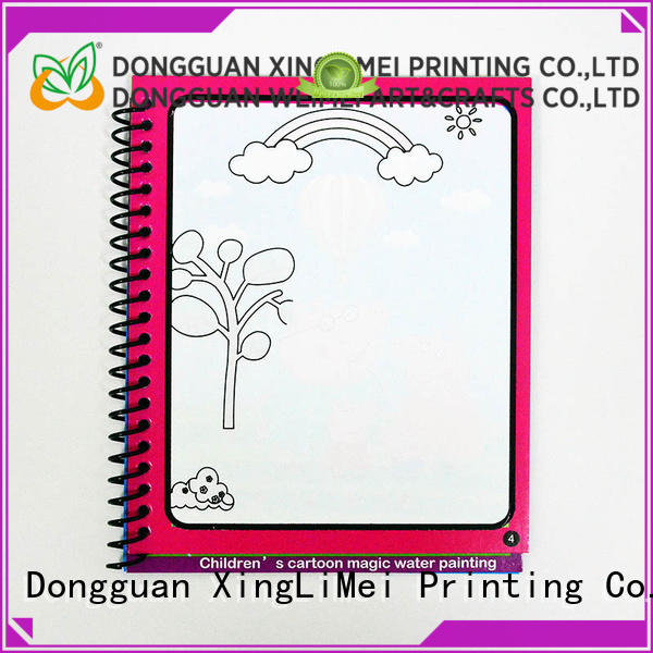 XingLiMei educational magic water coloring book supplies for interaction