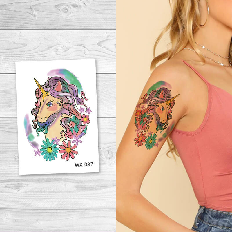 Full color temporary tattoos for adult WX087