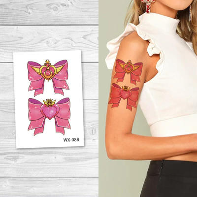 Fashion Butterfly Body Temporary Tattoos For Women WX089