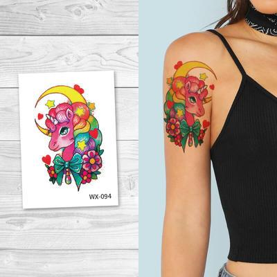 Skin Safe Body Art Temporary Tattoos WX094
