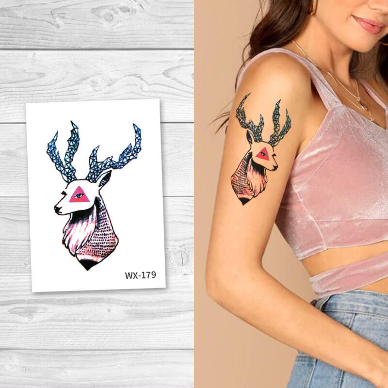 Animal Body Temporary tattoos for women WX179