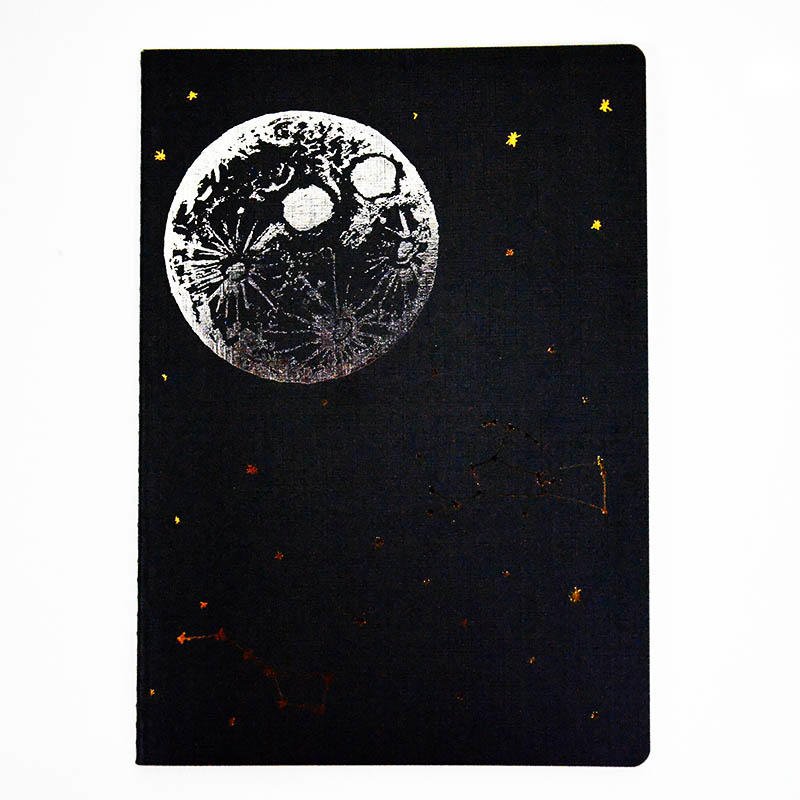 High Quality Custom Metallic Printing A5 Size Travel Journal Notebook