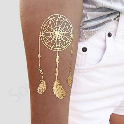 Metallic Shiny Temporary Water Transfer Tattoo