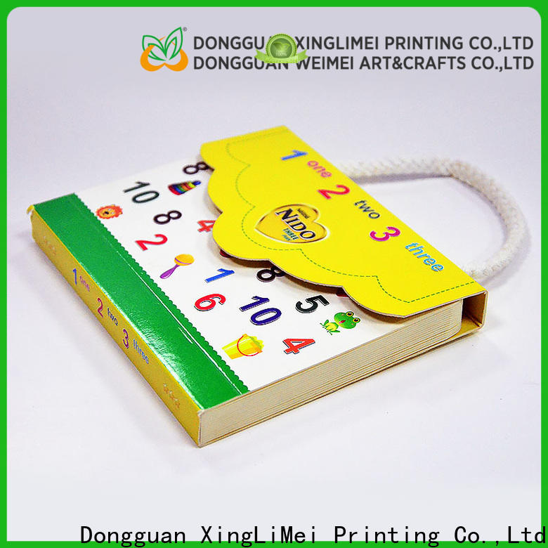 XingLiMei metallic professional book printing for travel for family