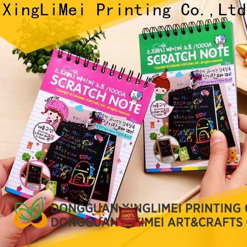 XingLiMei customized magic scratch paper tutorial for family