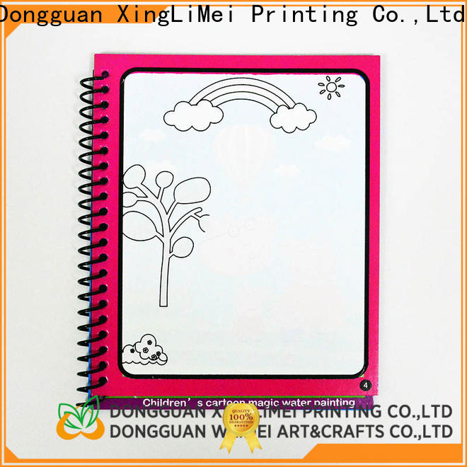 modern publishing water coloring books drawing non-toxic for parent-child
