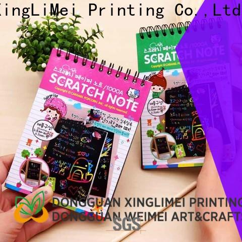 XingLiMei safe magic scratch paper on sale for lesson
