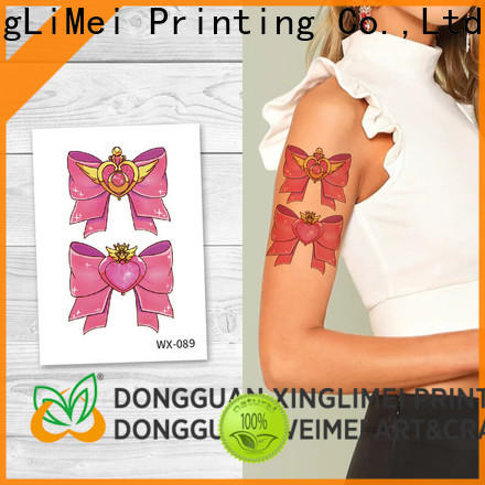 XingLiMei body art temporary tattoos factory price for wedding
