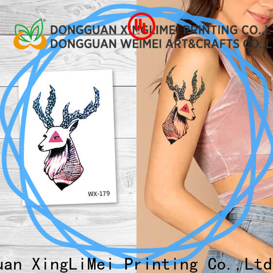 personalized fashion temporary tattoos nontoxic prices for wedding