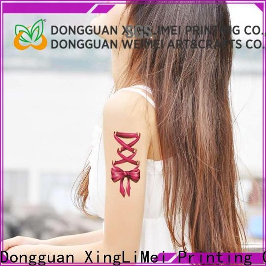 XingLiMei flash uv tattoos necklace for hands