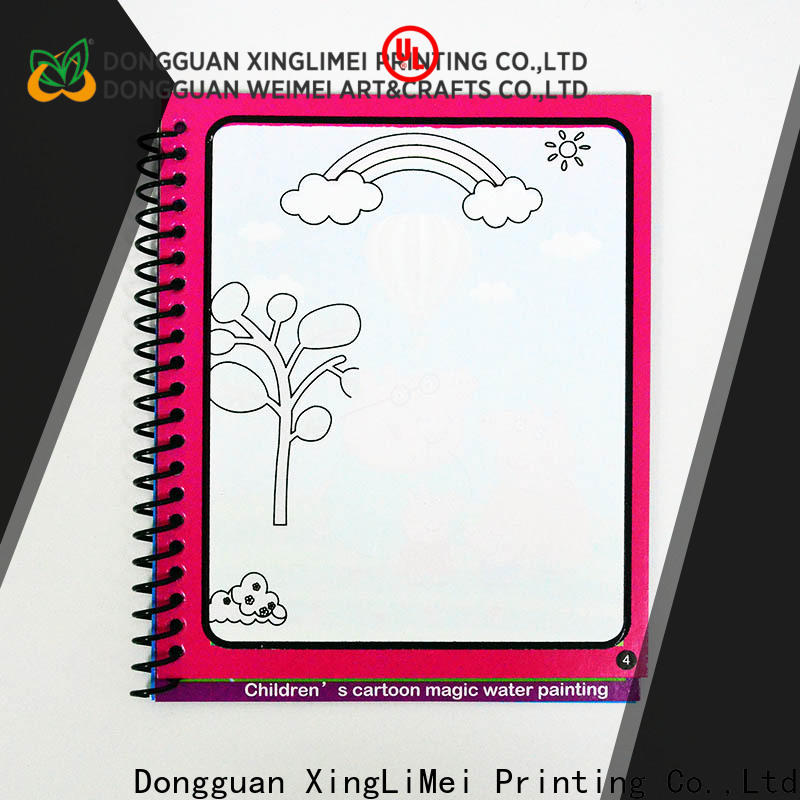 XingLiMei educational magic water colouring book for kids for parent-child