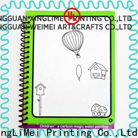 XingLiMei watercolor magic water coloring book wholesale for school