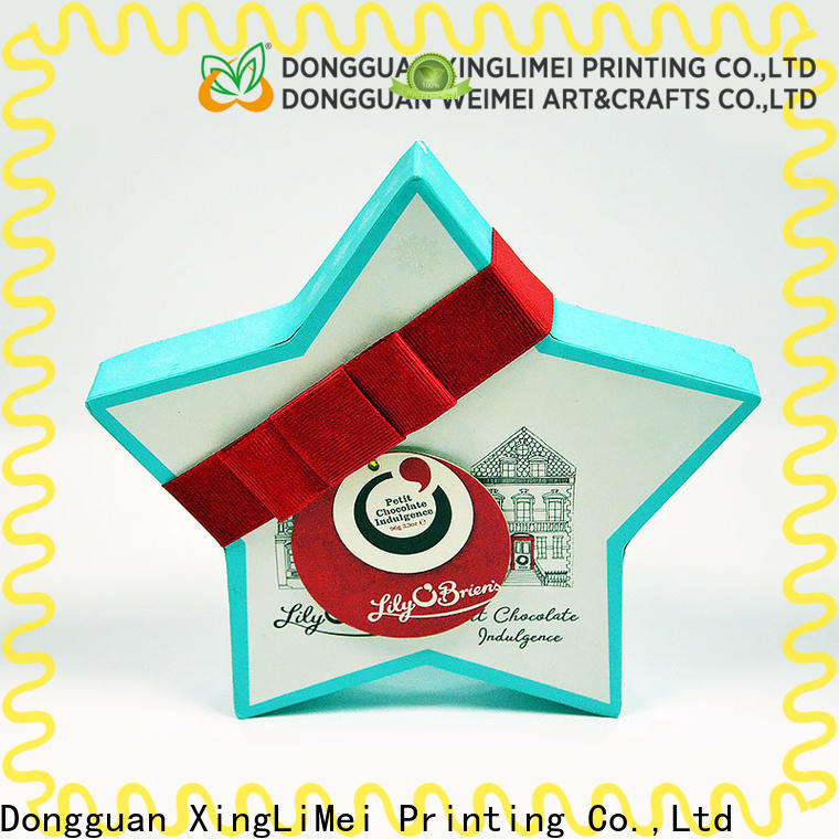 XingLiMei box custom printed boxes christmas for party