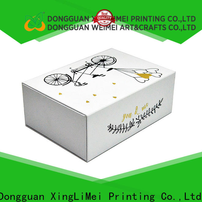 Recycle materials customized gift box luxury supplier for friends
