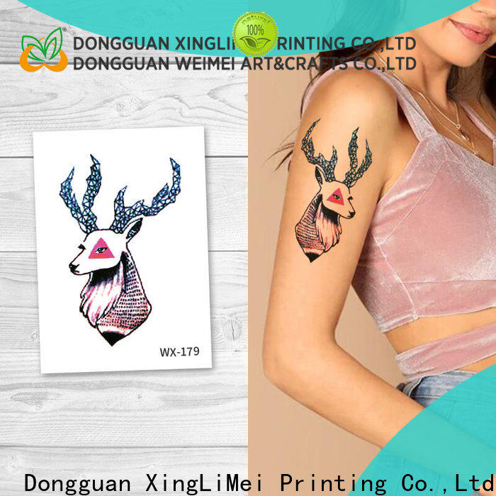 fake color temporary tattoos wx087 prices for decorative