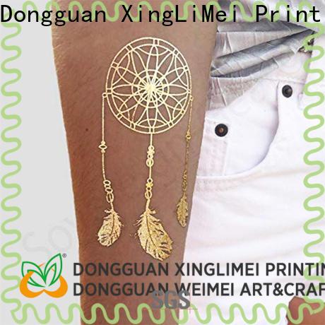 XingLiMei Metallic metallic transfer tattoos patterns for face