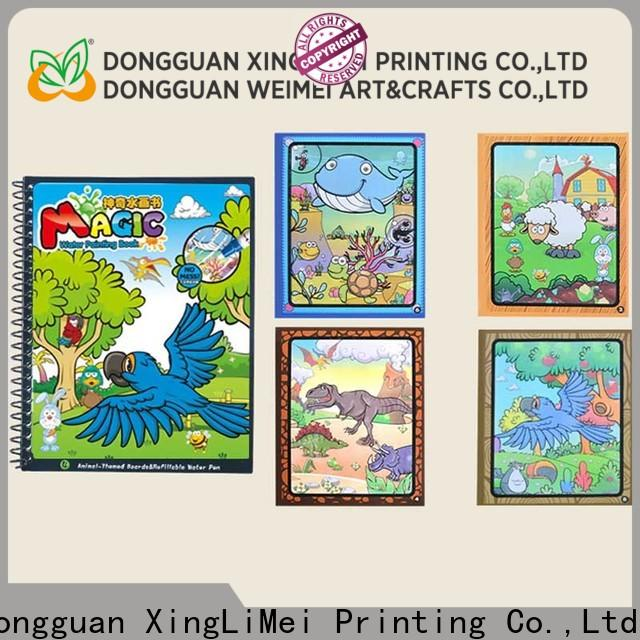 XingLiMei modern publishing magic water coloring book for toddlers for school