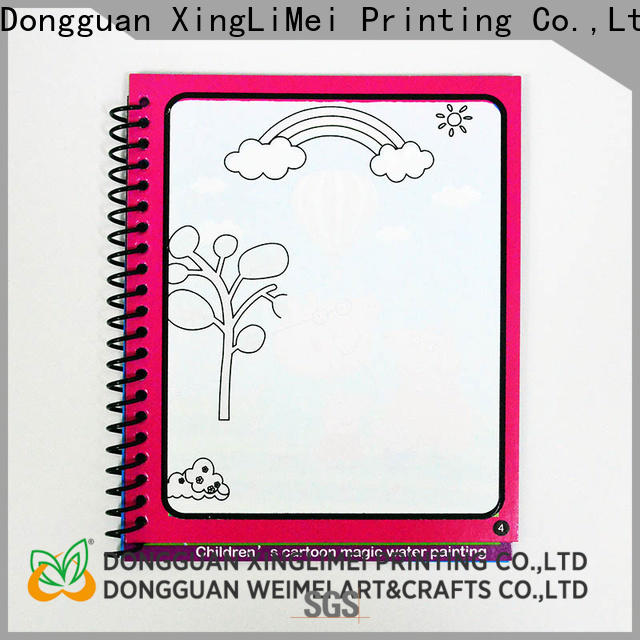 XingLiMei design water colouring book supplies for school