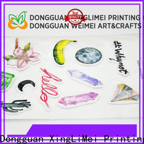 XingLiMei customized custom puffy stickers wholesale for Laptop