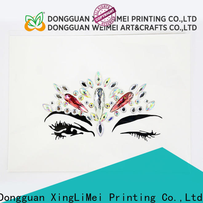XingLiMei customized custom made stickers online for wall