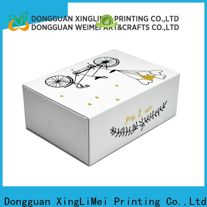 high quality custom printed boxes boxes for weddings for gift