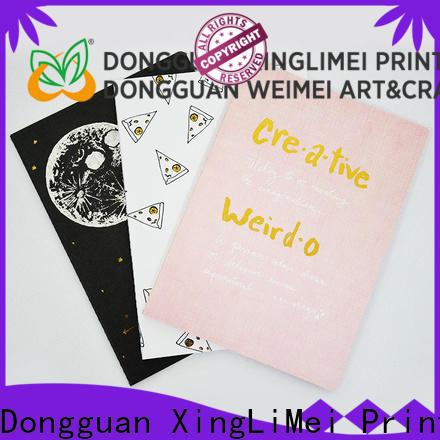 XingLiMei metallic books printing directly sale for work