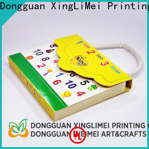 XingLiMei luxury custom brochure printing for thought for work