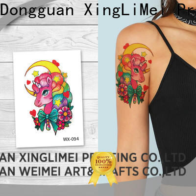 XingLiMei wx179 sexy temporary tattoos factory price for wedding