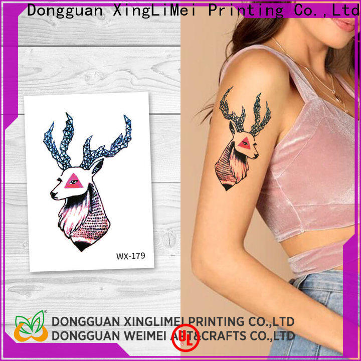 full color art temporary tattoos girls prices for party
