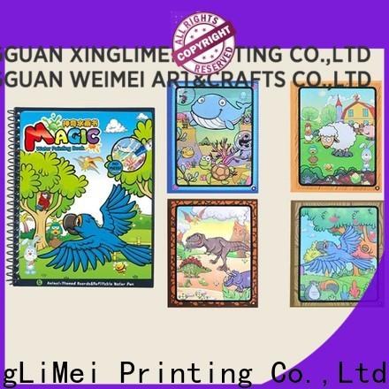 XingLiMei customized water coloring books wholesale for lesson