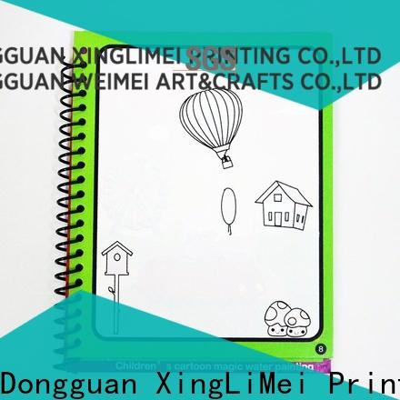 XingLiMei water water coloring books supplies for lesson