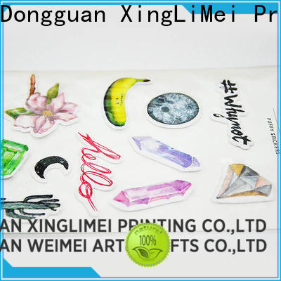 XingLiMei gems custom vinyl stickers online for wall