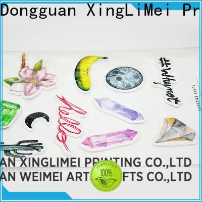 XingLiMei gems custom vinyl stickers online for wall