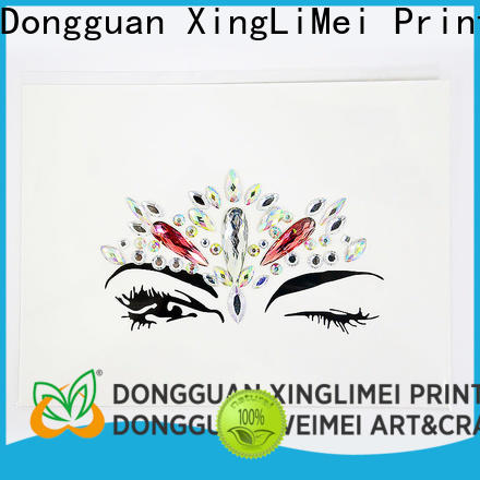 XingLiMei decorative custom made stickers wholesale for bumper