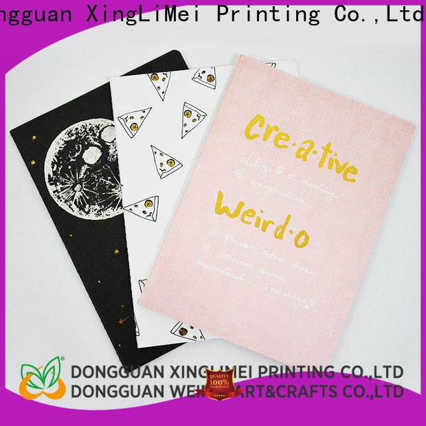 XingLiMei Notebook professional book printing directly sale for business