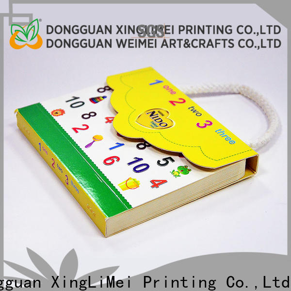 XingLiMei customized custom brochure printing notes for work