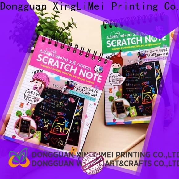 XingLiMei painting scratch art paper safe for family