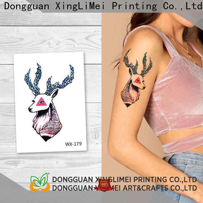 XingLiMei forearm artificial tattoo prices for wedding