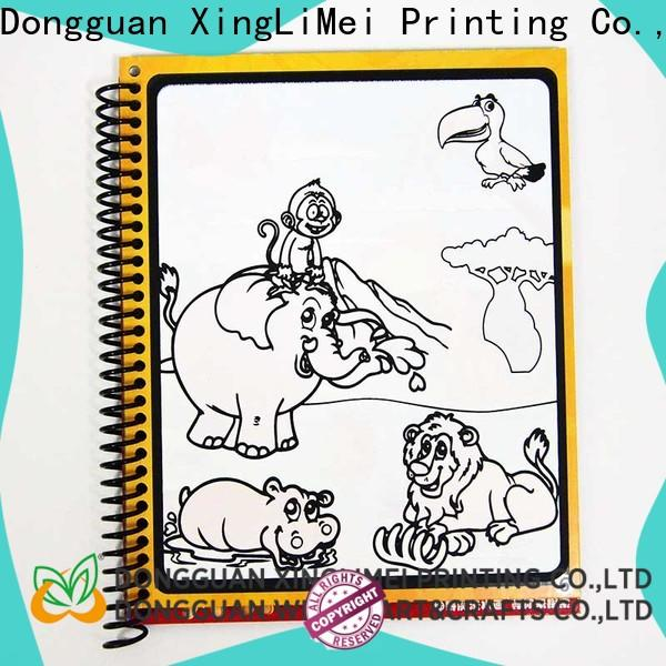 XingLiMei magic magic water coloring book supplies for lesson