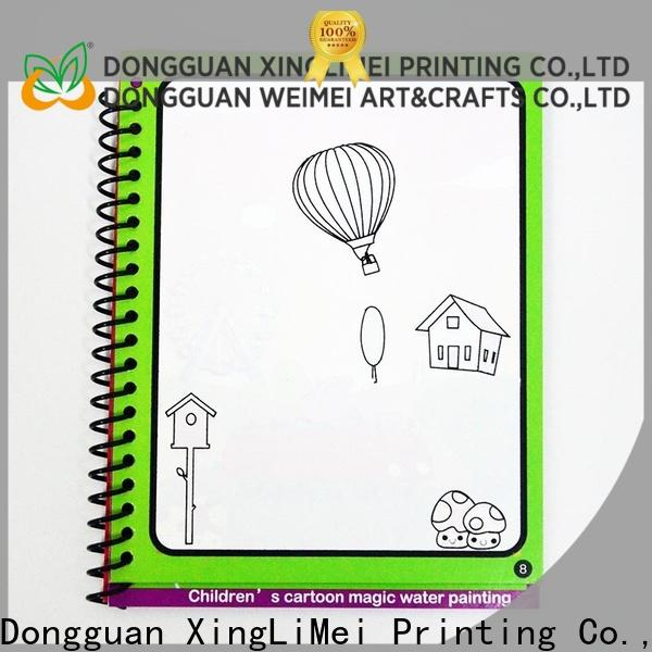 XingLiMei Reusable water coloring books for kids for interaction