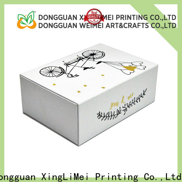 XingLiMei customized custom packaging boxes christmas for wedding
