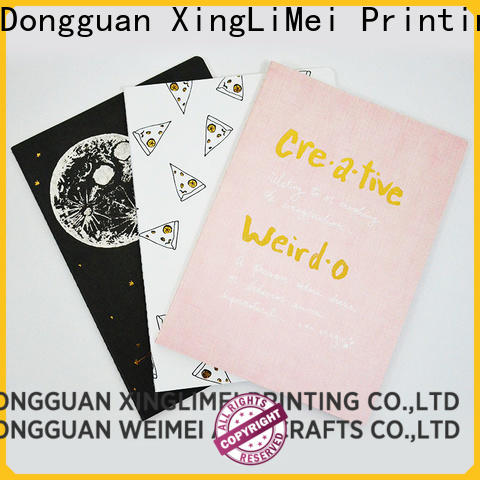 XingLiMei Notebook custom brochure printing directly sale for family