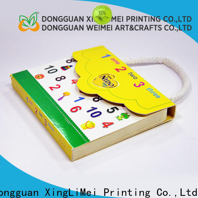 XingLiMei full color hardcover book printing for thought for school