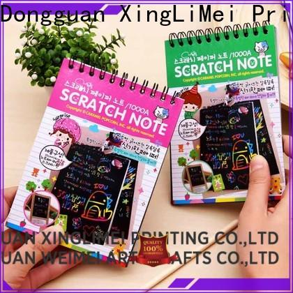 Painting scratch art paper kids books for family
